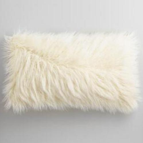 Cream Lumbar Pillow