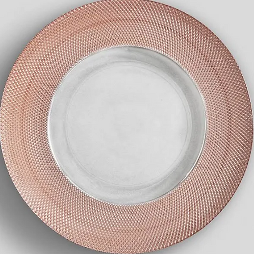 Blush Charger Plate