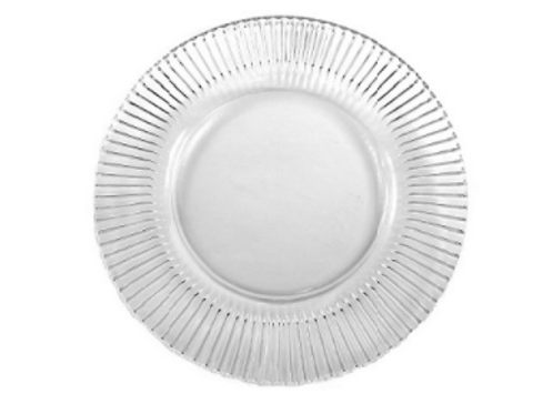 Crystal Glass Charger Plate