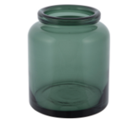 Dark Green Vase (small)