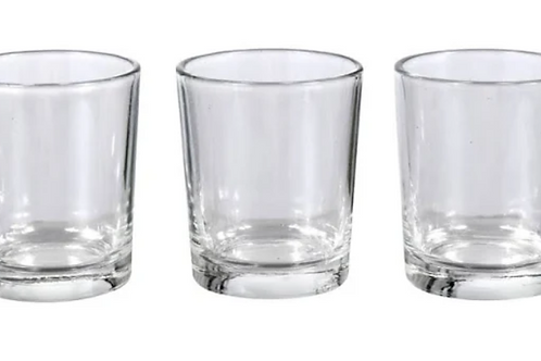 Clear Tealight Holders