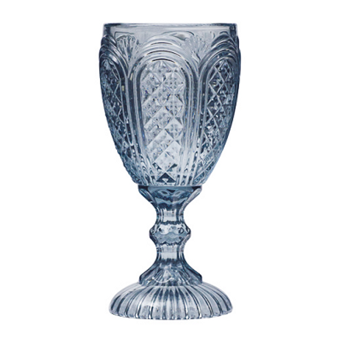 Dusty Blue Goblet