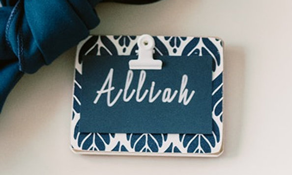 Tile Place Card