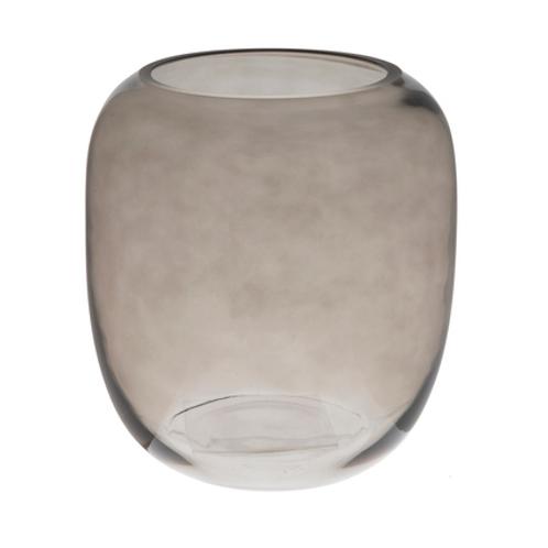 Gray Round Vase