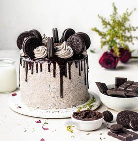 3 Layer Oreo Drip Cake