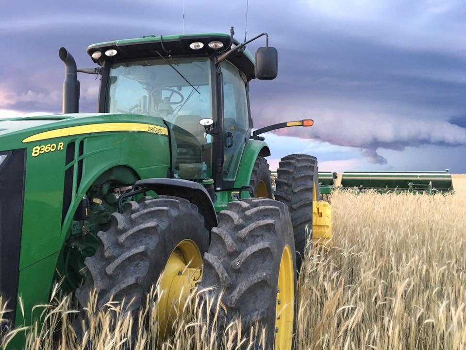Brad majors tractor picture