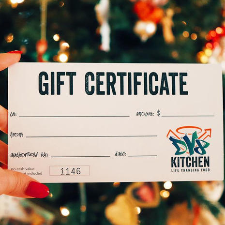 DV8 Kitchen Gift Card