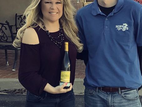 Hippity, Hoppity, Chardonnay's on its Way...