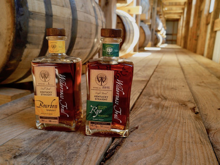 Rave reviews for Wilderness Trail Wheated and Rye Whiskey
