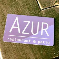 AZUR Restaurant Gift Card