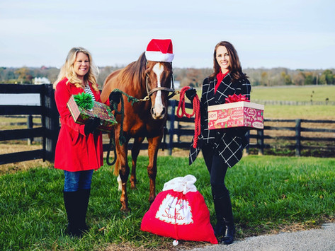 Who Needs a Reindeer When You Have a Thoroughbred?