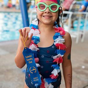 Croc's First Swim Meet