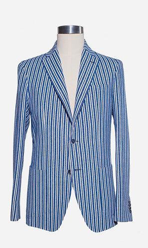 Single breast cotton jacket