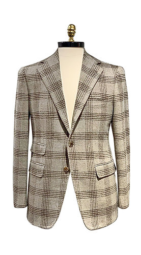 3 Button Jacket - Wool & Cashmere
