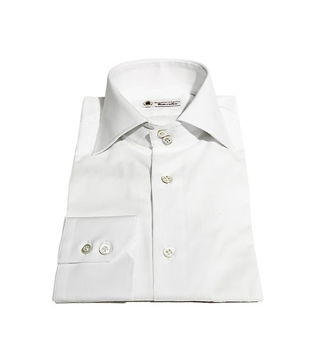 2 Button Shirt White Stripes