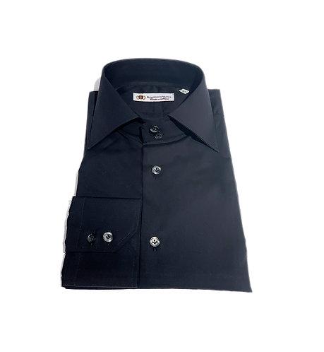 2 Button Shirt Black