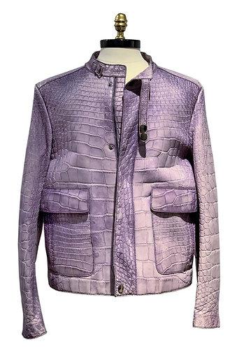 Crocodile Jacket  Purple
