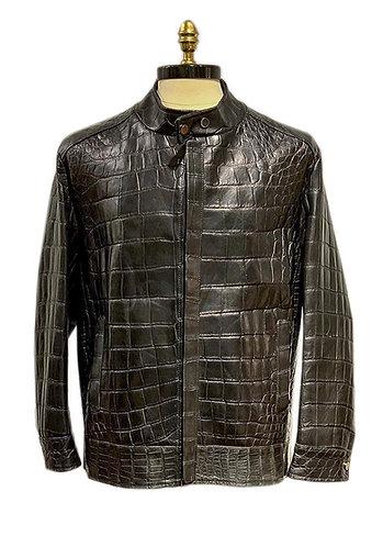 Croccodile Jacket  Black