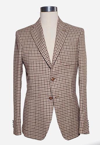 Single breast wool jacket