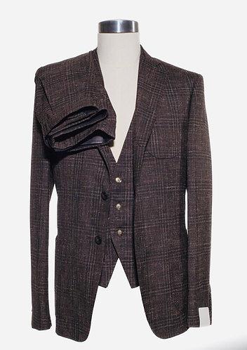 Three piece cotton/linen suit