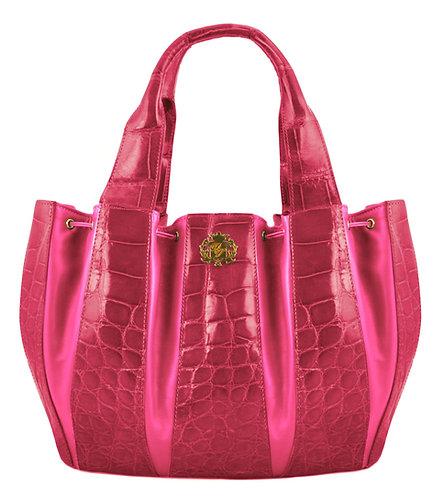 Julie Bag Crocodile Open Pink