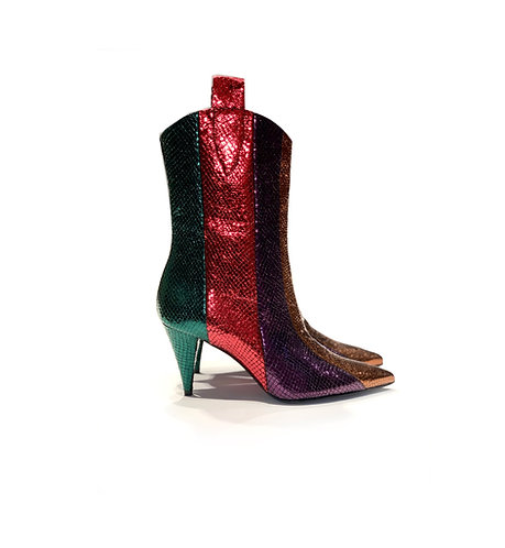 Ankle Boots Printed