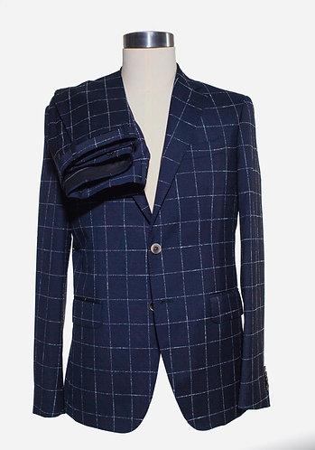 Single breast wool suit