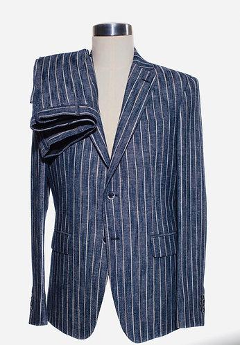 Single breast linen suit