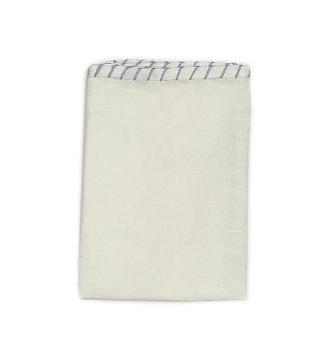 Hand made Pocket Square 100% Linen