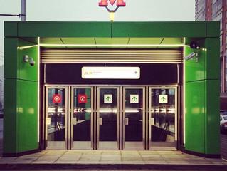 Открытие станции Раменки