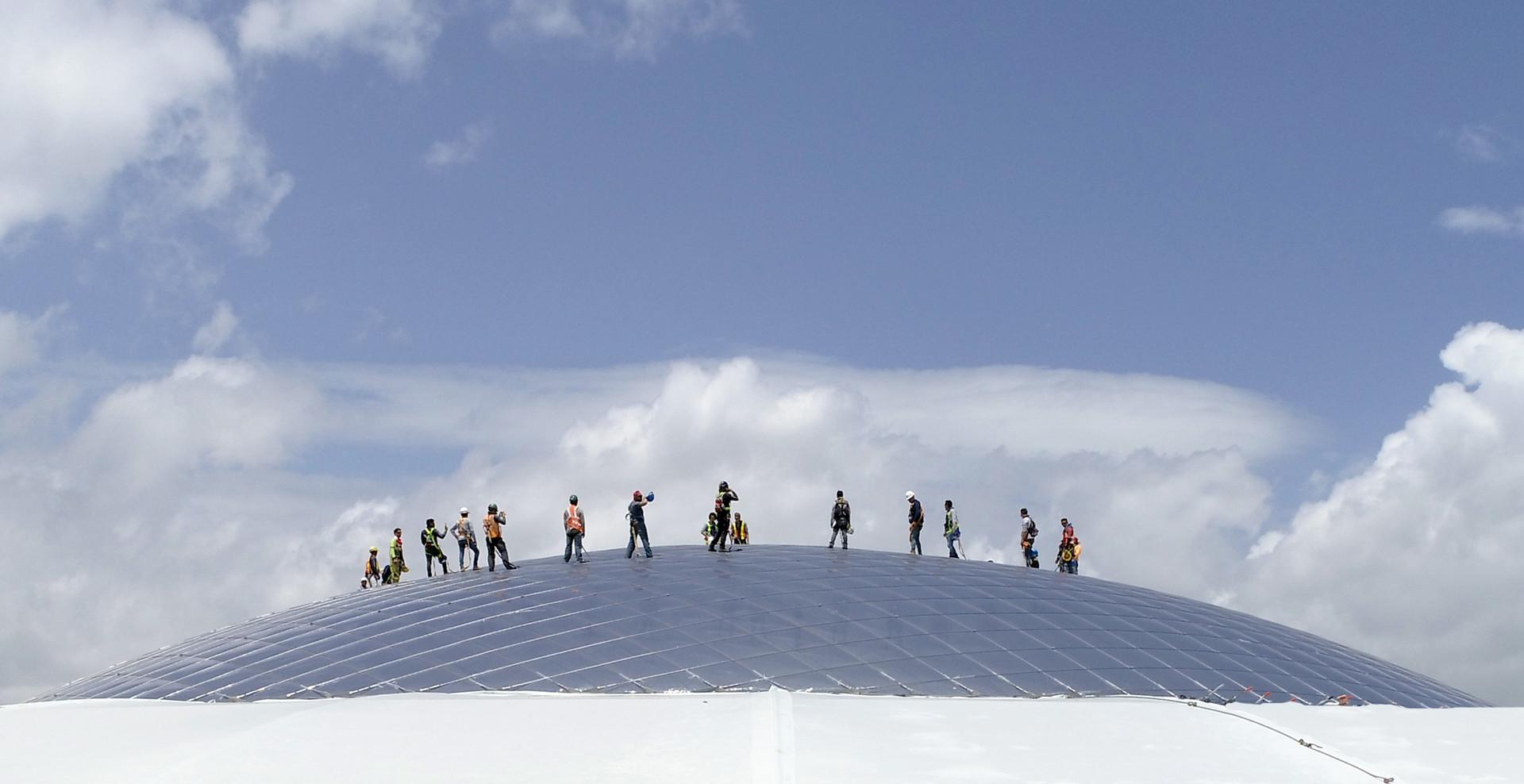 3dtex - Textile Architektur - Oxigeno -