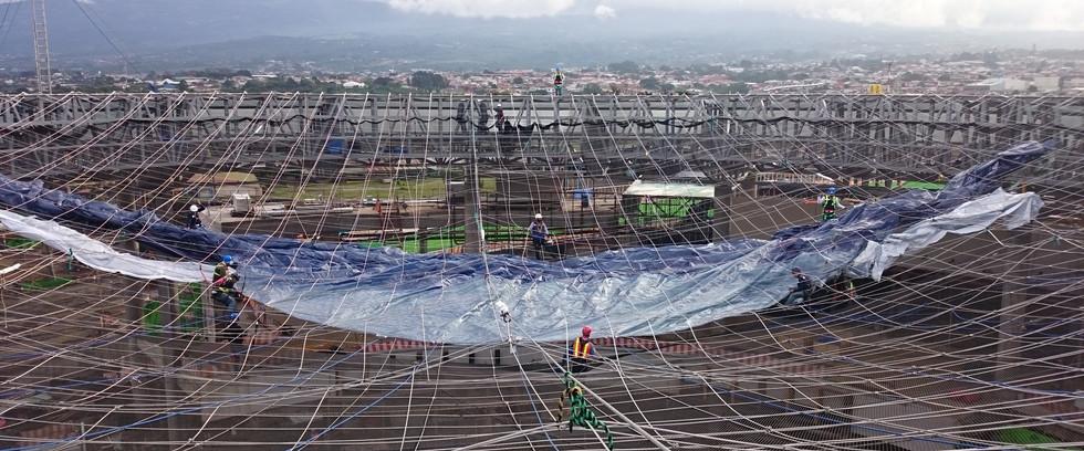 3dtex - Textile Architektur - Oxigeno in