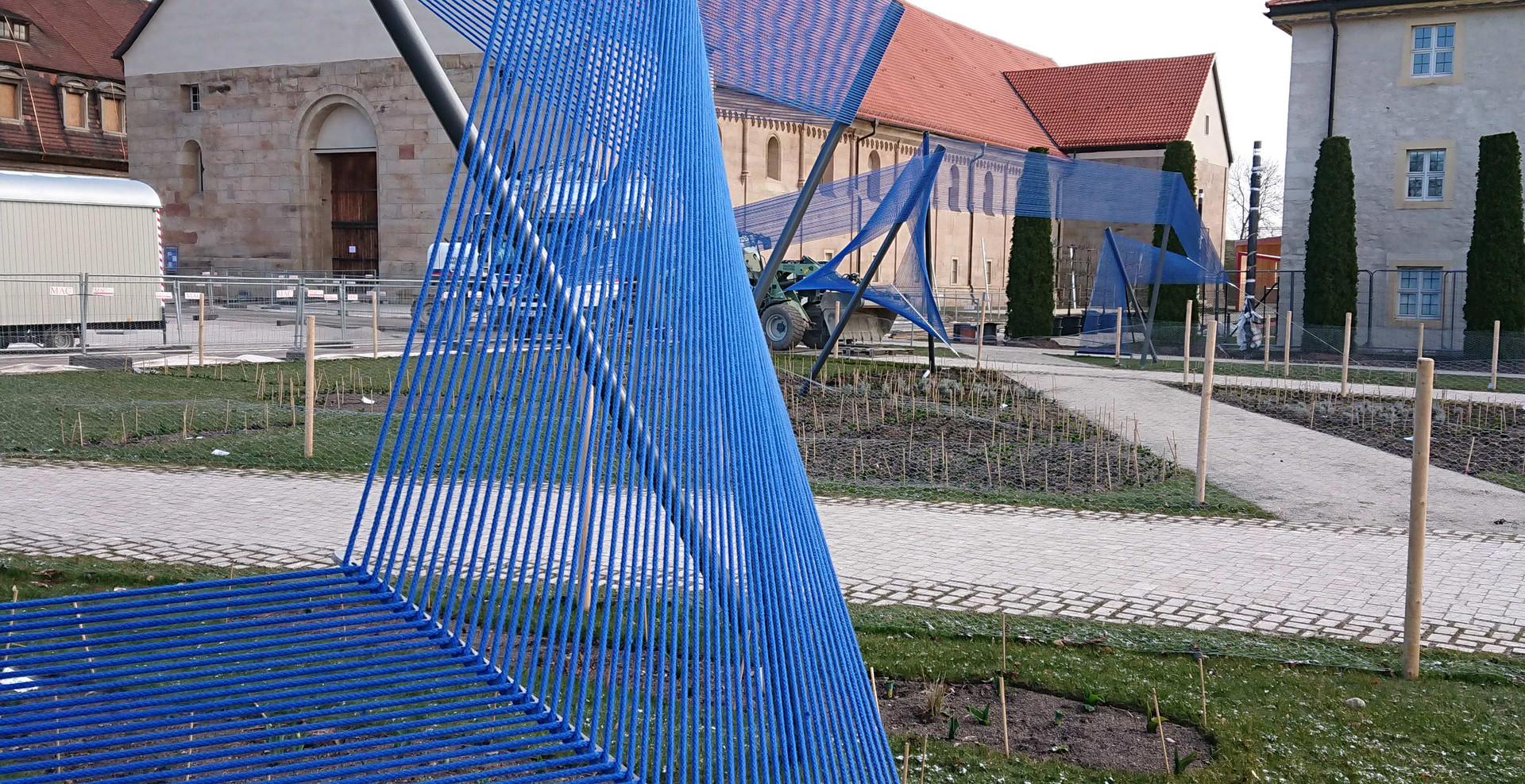 3dtex BUGA Textile Skulptur 03