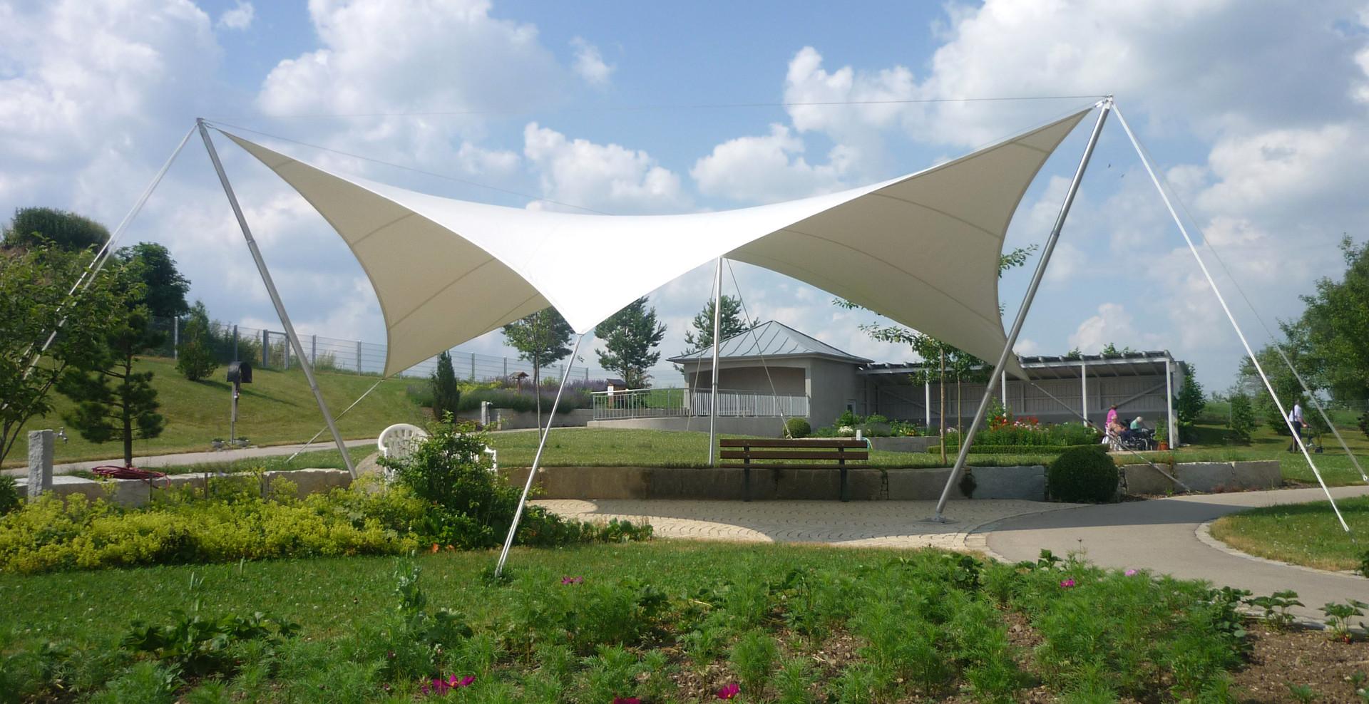 3dtex - Textile Architektur - Sternwelle