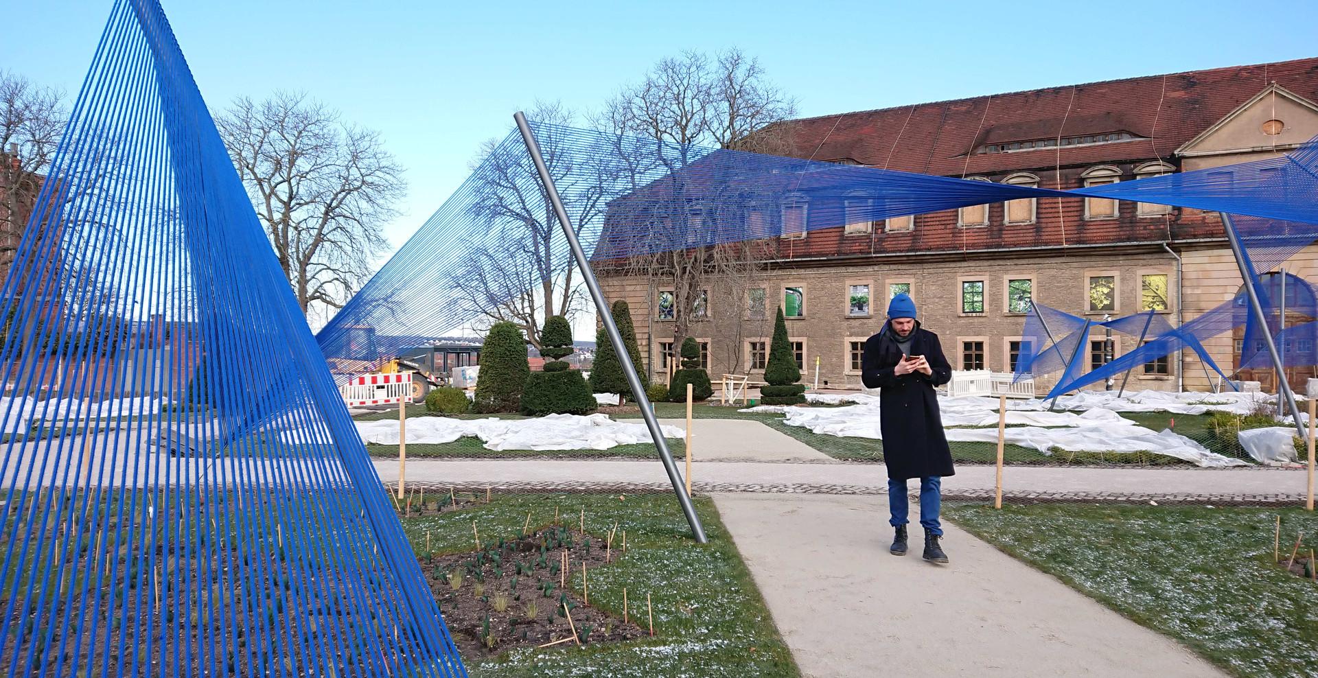 3dtex BUGA Textile Skulptur 02