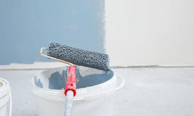 Rodillo para pintar paredes