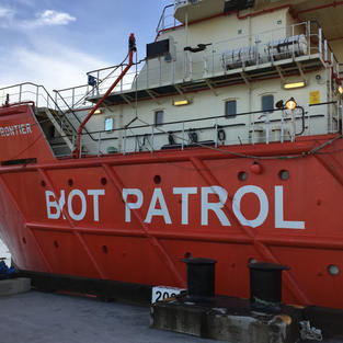 The BIOT Patrol Vessel