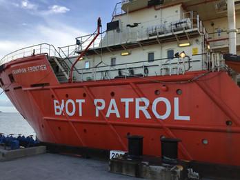 BIOT patrol vessel