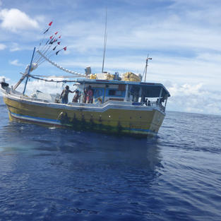 Illegal, Unreported and Unregulated fishing vessel