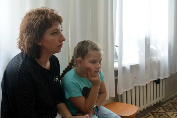 Татьяна Вячеславовна Хоменок с дочерью.J