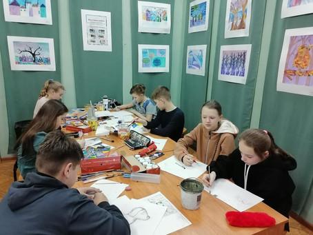 Начался набор учащихся в художественную школу на 2021-2022 учебный год