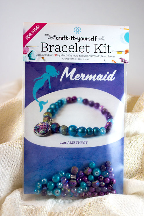 Mermaid Kid's Bracelet Kit