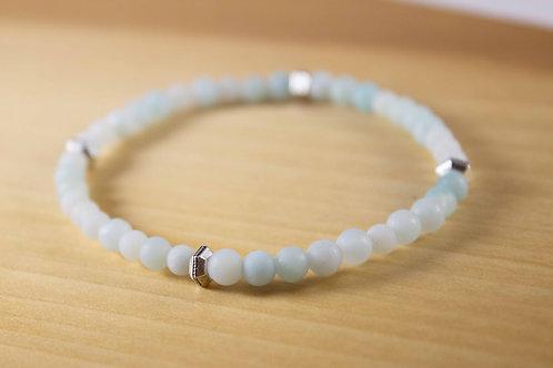Amazonite Skinny Stacker Bracelet