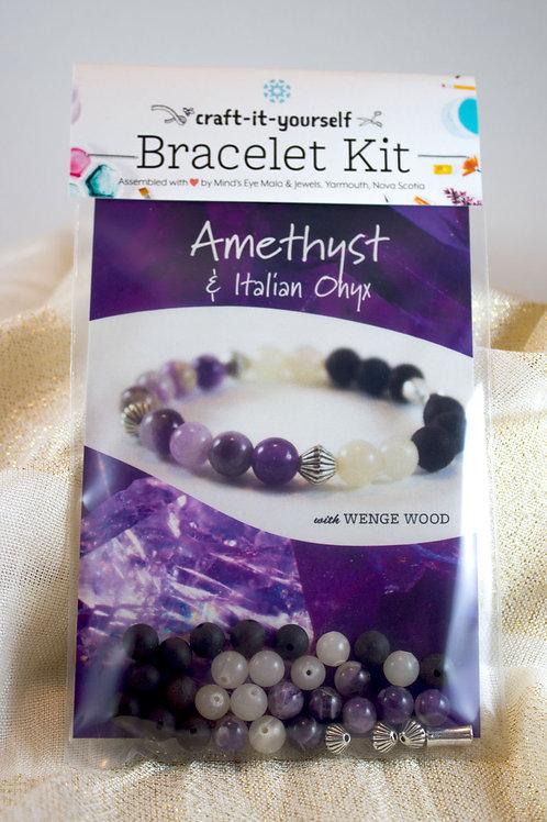 Amethyst Bracelet Kit