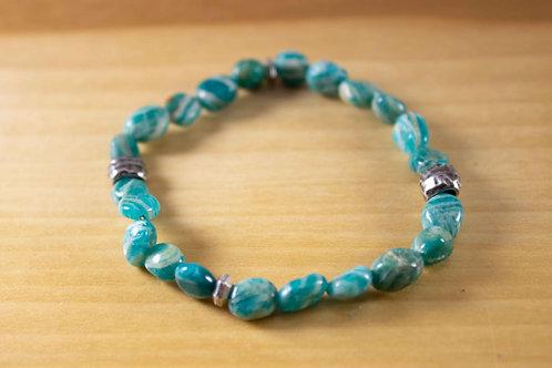 Banded Amazonite Bracelet