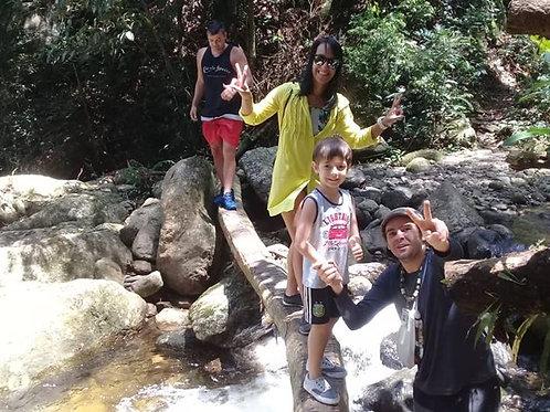 Circuito das Águas do Rio Colibri em Cachoeiras de Macacu