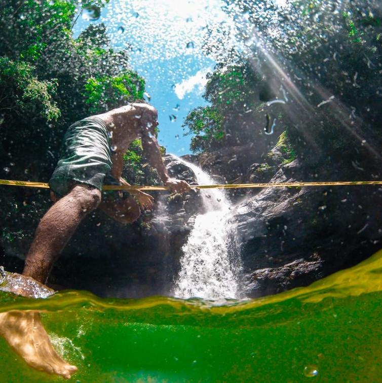Cachoeira Terceira Dimensão
