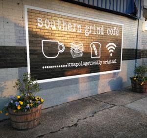 Latasha McCaleb Coffee x Hustle Google Southern Grind Cofe Black Owned Coffee Shop Southern Baton Rouge Unapologetic Narcisse Burchell