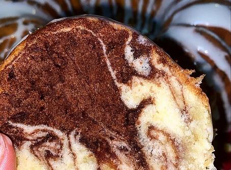 Brownie Batter Poundcake