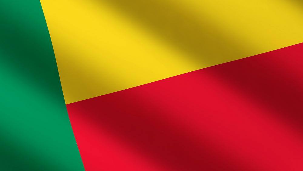 Les couleurs du drapeau du Bénin